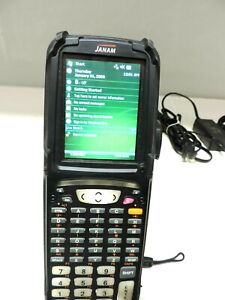 Janam Xg100w 1cgfbv00 Bar Code Scanner Gun Comes With Battery Never Used