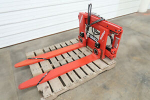 Bolzoni Turn a fork Clamp Attachment Class Ii Mount 2500 Lb Capacity