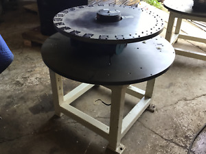 24 Station Rotary Indexing Table Base With Camco Indexing Gearbox And Motor