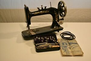 Antique Vintage New Home 1880 S Treadle Sewing Machine Head Attachments Manual