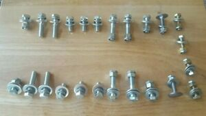 New Complete Willys Body Bolt Set Gpw Mb Cj2a Correct Hardware