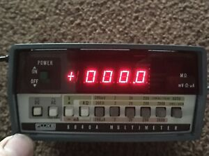 Vintage Fluke 8040a Multimeter awsome
