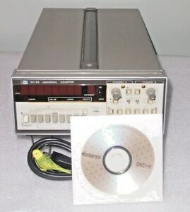 Hp 5316a Frequency Counter 0 100 Mhz Time Interval Totalizer Ratio Tested