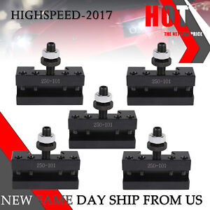 Upgraded Quick Change Turning And Facing Holder For Lathe Tool Post Holder 5pcs