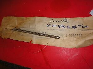 Nos Gm Bbc 427 454 L88 Ls6 7 16 Exhaust Pushrod 3942415 One Pushrod B