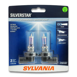 Sylvania Silverstar Low Beam Headlight Bulb For Ford Expedition Contour Pf