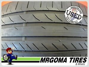 1 Continental Contisportcontact 5 Ssr Rft 275 40 20 Used Tire No Patch 2754020