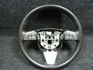 2007 2008 2009 Cadillac Srx Steering Wheel Leather Wrapped Great Orig Condition