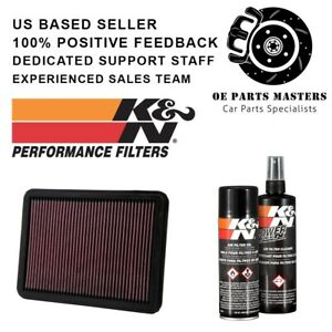 K N Air Filter Cleaning Care Service Kit 33 2144 99 5000