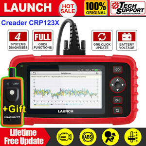 2019 Launch X431 Crp123x Obd2 Car Scanner Automotive Diagnostic Tool 4 System