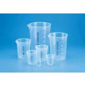 Measuring Beaker Without Handle Pp Autoclavable Various Options