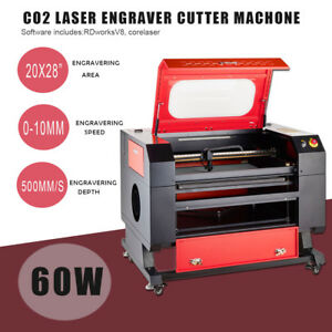 60w Co2 Laser Engraving Machine Laser Engraver Cutter W usb Interface 700x500mm