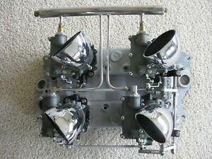 Offenhauser 4 Deuce 4 X 2 Set Up For Chevy Small Block Sbc Fuel System