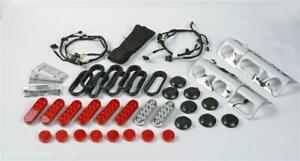 Led Taillight For Jerr Dan Heavy Wreckers Stainless Steel Complete Kit