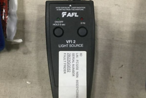 Noyes Vfi 2 Light Source 2 5mm Fiber Optic Test Equipment Afl Vfi 2
