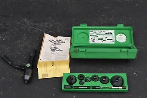 Greenlee 7806 sb Quick Draw Hydraulic Punch Driver And Kit With Conduit Size Pun