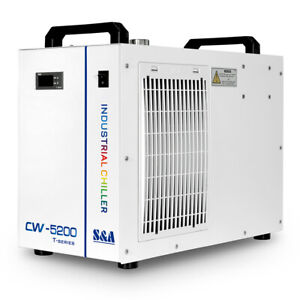 S a Cw5200 Co2 Laser Water Chiller For Laser Tube To Cooling 2 Years Warranty