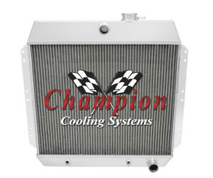 2 Row Performance Champion Radiator For 1949 1954 Chevrolet Cars L6 Engine