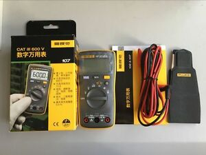 True New Fluke 107 Palm sized Digital Multimeter