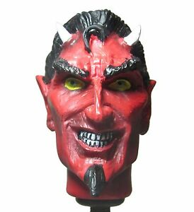 New Red Devil Skull Shift Knob Sold Resin Rat Rod Gear Lever Hot Rod
