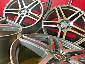 Mercedes 20 Inch S65 Rims Wheels Set4 New 20 8 5 20 9 5 S550 S500 S450 S450 Amg