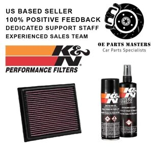 K N Air Filter Cleaning Care Service Kit Pn 33 2435 99 5000