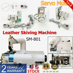 Industrial Sewing Machine Brushless Servo Motor Sm 801 Leather Skiving Machine