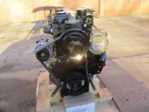 Perkins 1104 Stress Block Diesel Engine 54kw All Complete And Run Tested