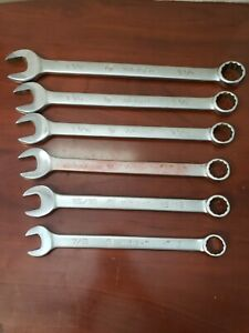 Wright Tools 12 Point Combination Wrench Set see Description C x