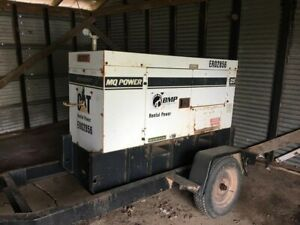 Multiquip Dca25usi 20kw 25kva Portable Diesel Generator On A Trailer