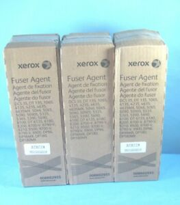 Lot Of 3 Genuine Xerox 008r02955 Fuser Agent Factory Sealed Boxes Free Ship