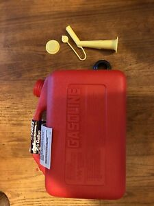Craftsman Gas Can Ez Pour 2 1 2 Gallon Preban Nozzle Vintage Sears Vented