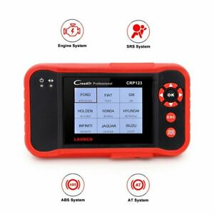 Launch Automotive Eobd Obd2 Scanner Abs Srs Airbag Engine Car Four System Scan