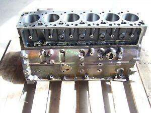 Damaged 98 99 00 01 02 Dodge Ram Cummins 5 9l Diesel Engine Block 24v Bare 55