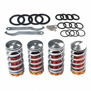 Adjustable 1 4 Lowering Scaled Suspension Coilover Spring For Honda