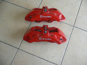 Challenger Charger Big Brake Brembo 6 Piston Calipers Front