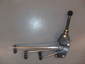 Hurst Comp Plus Super T10 Muncie 4 Speed Shifter Std Set Back Racing W Alum Rods