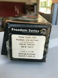 Ryobi 3304 Pacesetter 2nd Ink Form Roller Assy 34xf2ea Freedom Series
