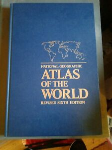 National Geographic Atlas Of The World Revised Sixth Edition Very Large Book