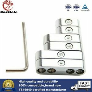 7 8 8 8 9mm Chrome Spark Plug Wire Separators Dividers Looms For Chevy Ford Sbc