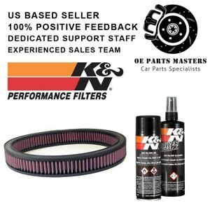K n Custom Air Filter Pn E 3710 99 5000 Cleaning Care Service Kit