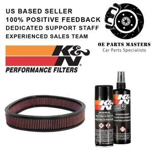 K n Custom Air Filter Pn E 3735 99 5000 Cleaning Care Service Kit