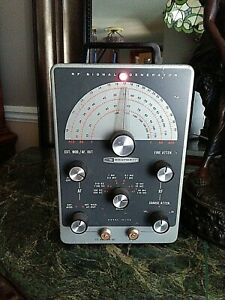 Vintage Heathkit Rf Signal Generator Ig 102 Test Equipment