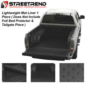 For 1983 2012 Ford Ranger 7 Ft 84 Long Cab Blk Rubber Truck Bed Floor Mat Liner