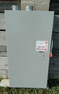Used Cutler hammer 400 Amp 3 Pole General Duty Safety Switch Dg325 Ugk Series B