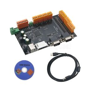 Usb Cnc 4 Axis Mdk2 Breakout Board Stepper Motor Controller Card Mpg Interface