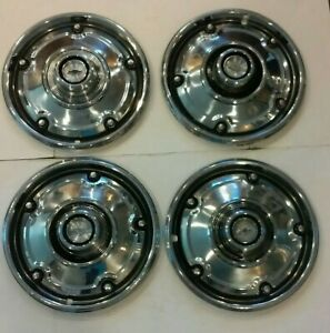 1967 1973 Chevrolet Pickup Truck Hubcap Set