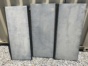 2002 2013 Chevy Avalanche Escalade Tonneau Hard Bed Cover 3 Pcs Oem Grey