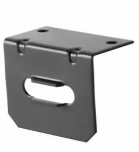 Trailer Wire Connector Bracket For 4 Way Flat Wiring Curt 58301