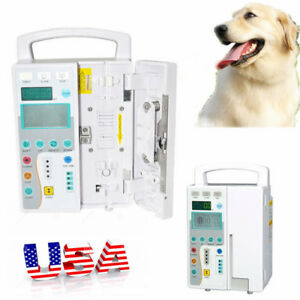 Medical Infusion Pump Iv fluid Pump With Voice And Visual Alarm Human Animal Us